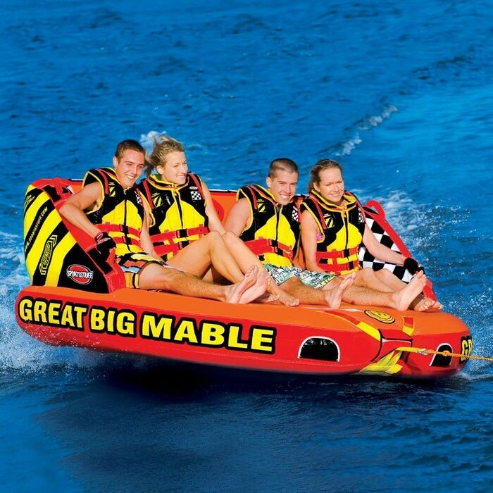 Water Floats And Tubes ~ Sportsstuff great big mable inflatable water rider tube