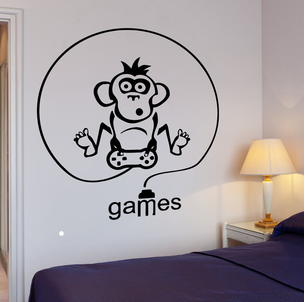 Wall Decal Gamer Video Game Room Cool Decor For Living Room Z2763 EBay