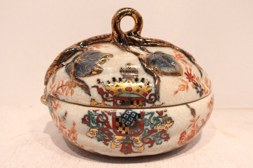 Have thought Vintage imari style tin