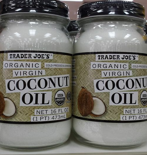 2 x trader joe 39 s organic coconut oil 32 ounces total free priority shipping ebay. Black Bedroom Furniture Sets. Home Design Ideas