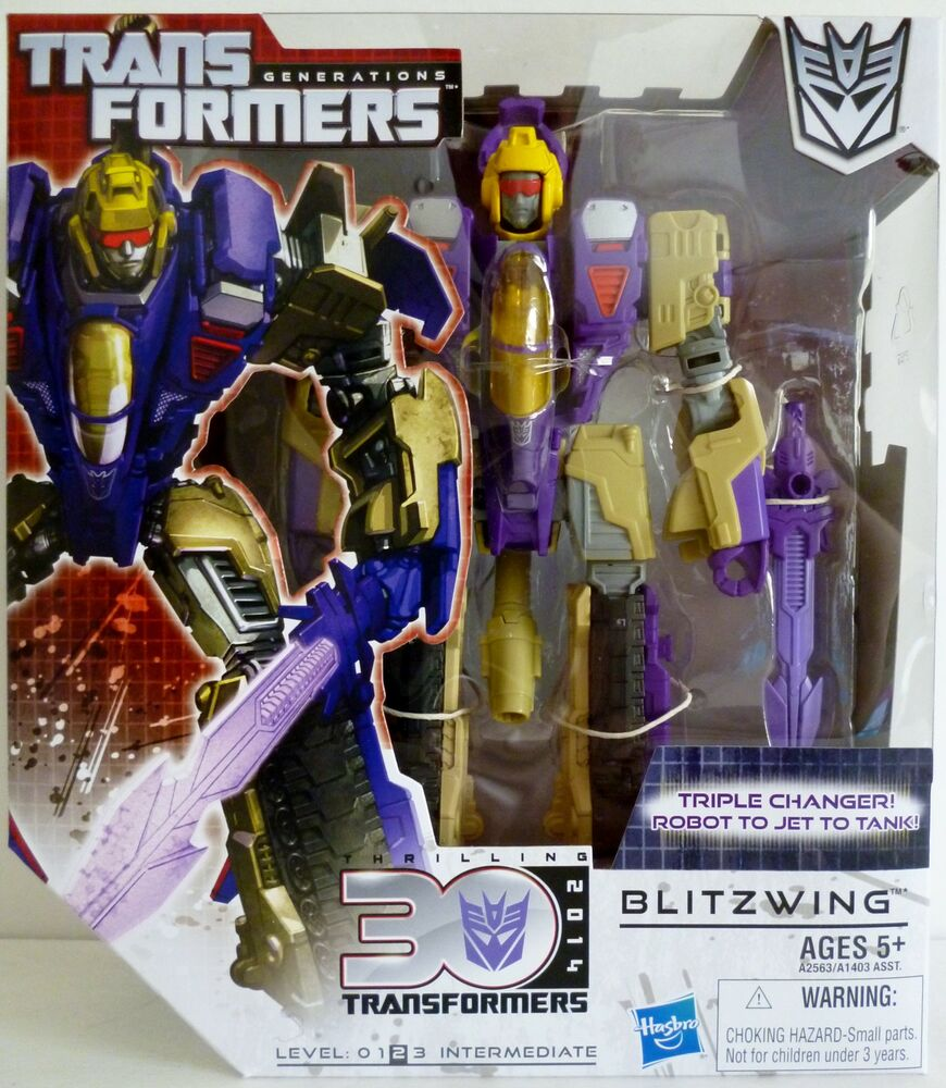 BLITZWING Transformers Generations 30th Anniversary ...