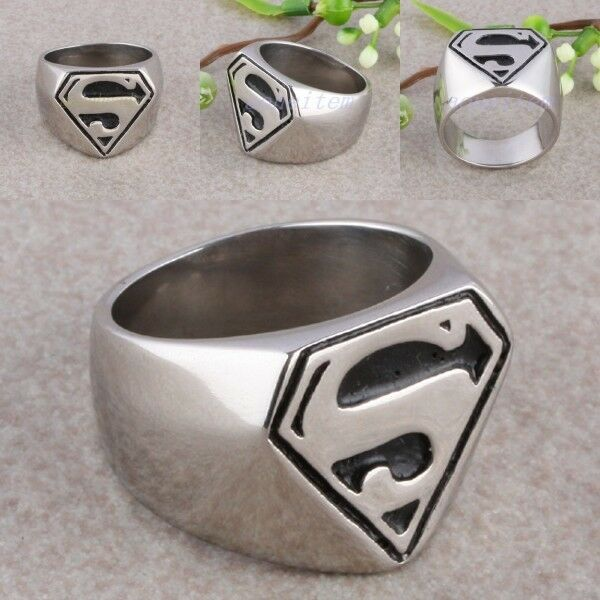 Anquited Stainless Steel Superman Super Man S Logo Woman. Thror Rings. Emerald Cut Wedding Rings. Fat Wedding Rings. Signet Rings. Inspired Engagement Wedding Rings. Navajo Wedding Rings. First Day Wedding Rings. Lapis Lazuli Engagement Rings