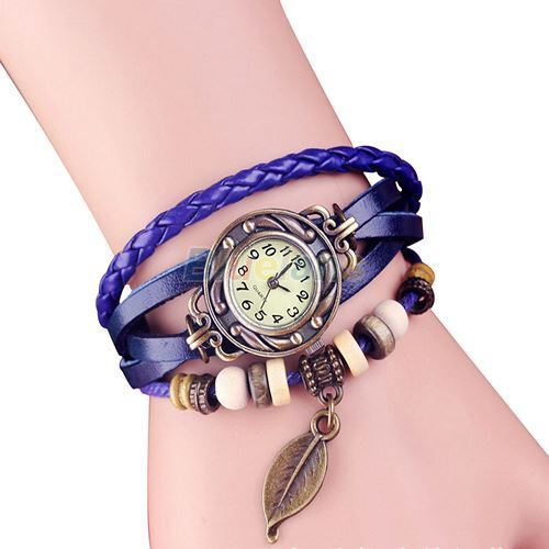 retro leather new style vintage watches bracelets