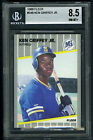 KEN GRIFFEY JR.~1989 FLEER#548 GRADED BGS-8.5 NM/MT+ HOT ROOKIE BASEBALL RC CARD