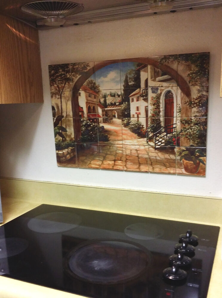 kitchen tile mural hangable tile mural kitchen backsplash kitchen 3268