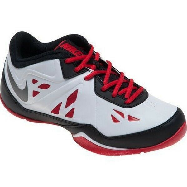 quality design 86e7f 58bef Details about Nike Air Ring Leader Low 2 Black Metallic Dark Grey White  Unvrsty Red 637380-003