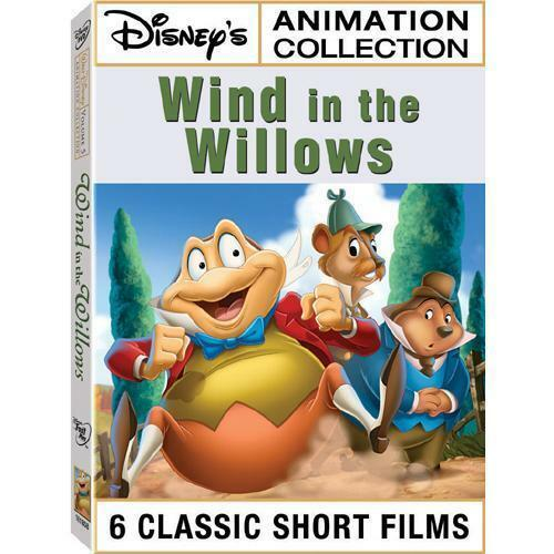 Disney Animation Collection Vol 5 Wind In The Willows DVD