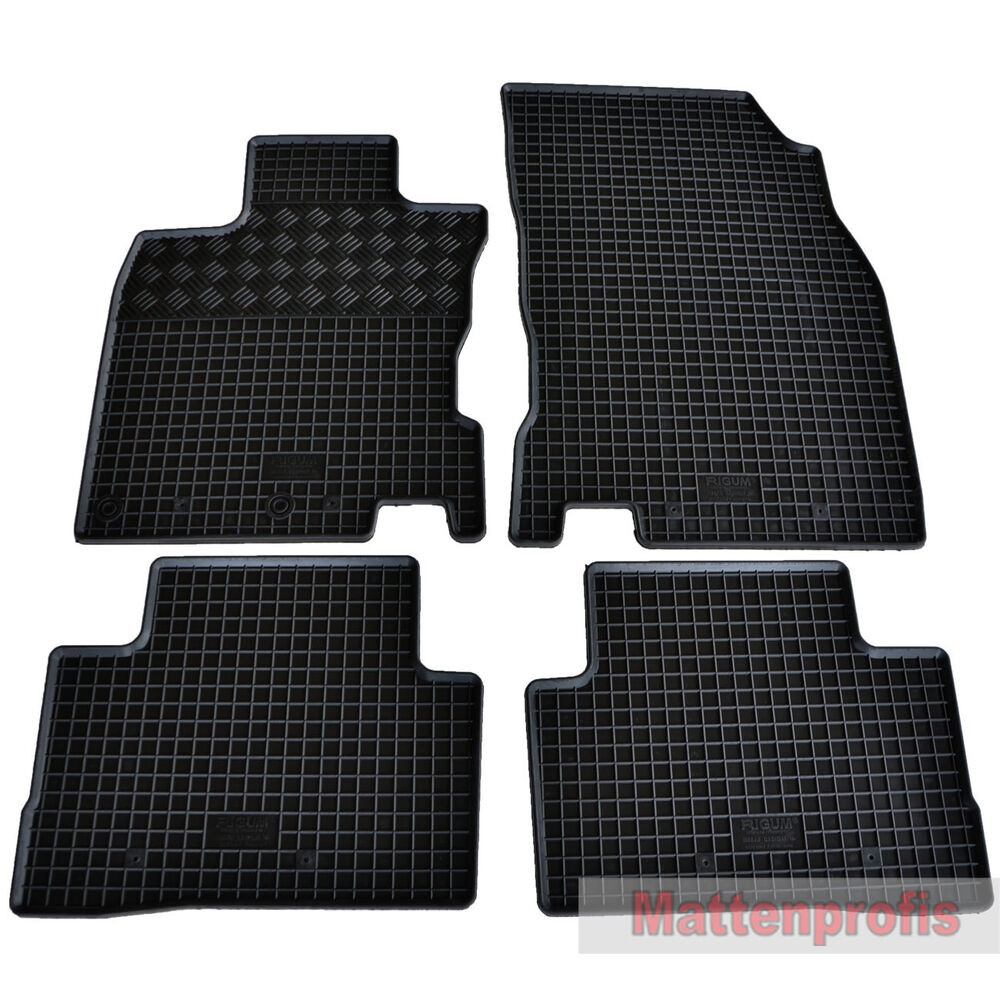 caoutchouc tapis caoutchouc tapis de sol 4 pi ces pour. Black Bedroom Furniture Sets. Home Design Ideas
