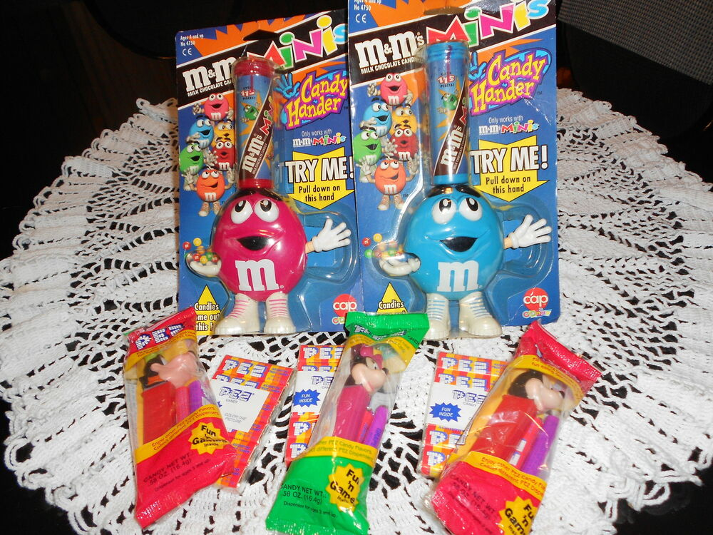 M candy dispensers and pez ebay