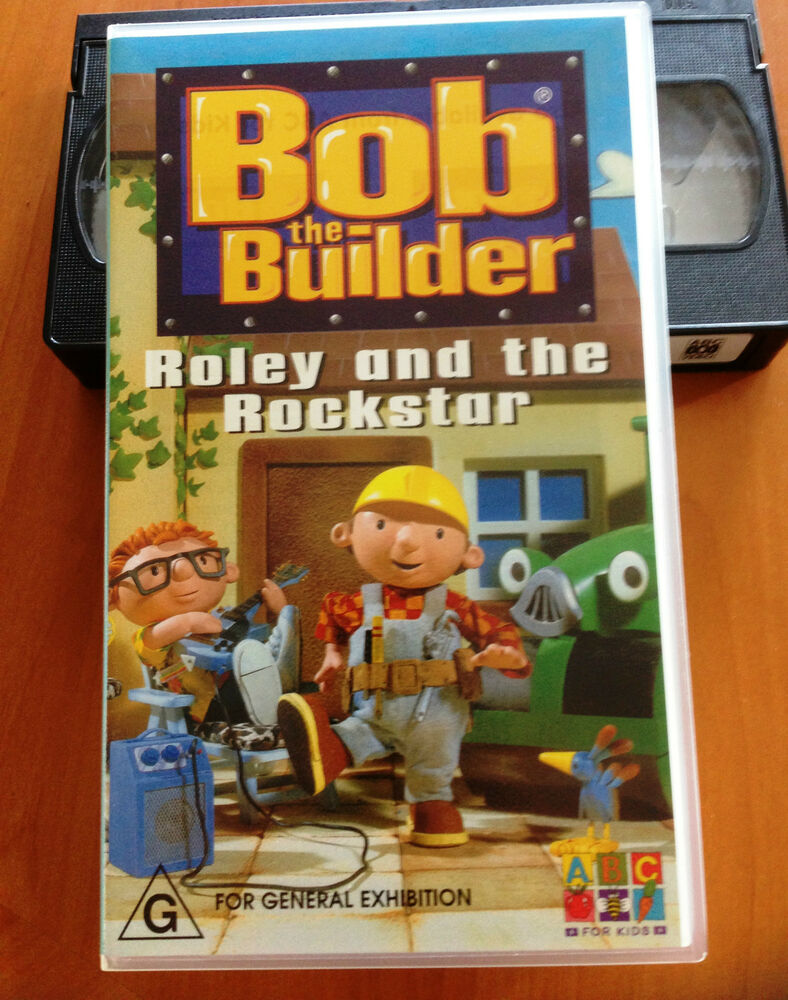 Where Can I Sell My Vhs Tapes >> Bob the Builder - Roley and The Rockstar - ABC FOR KIDS ...