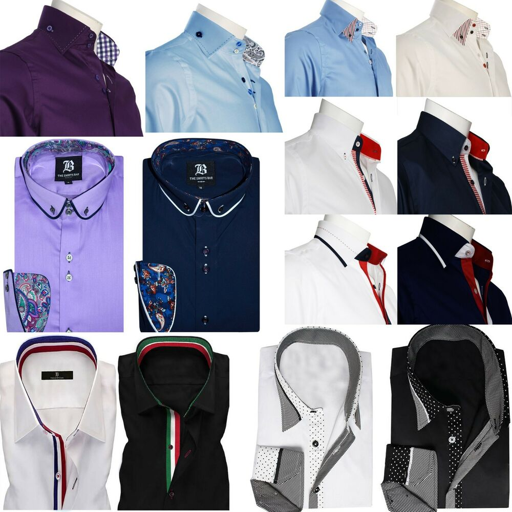 Men 39 S Formal Shirt Men Italian Dress Designer Casual