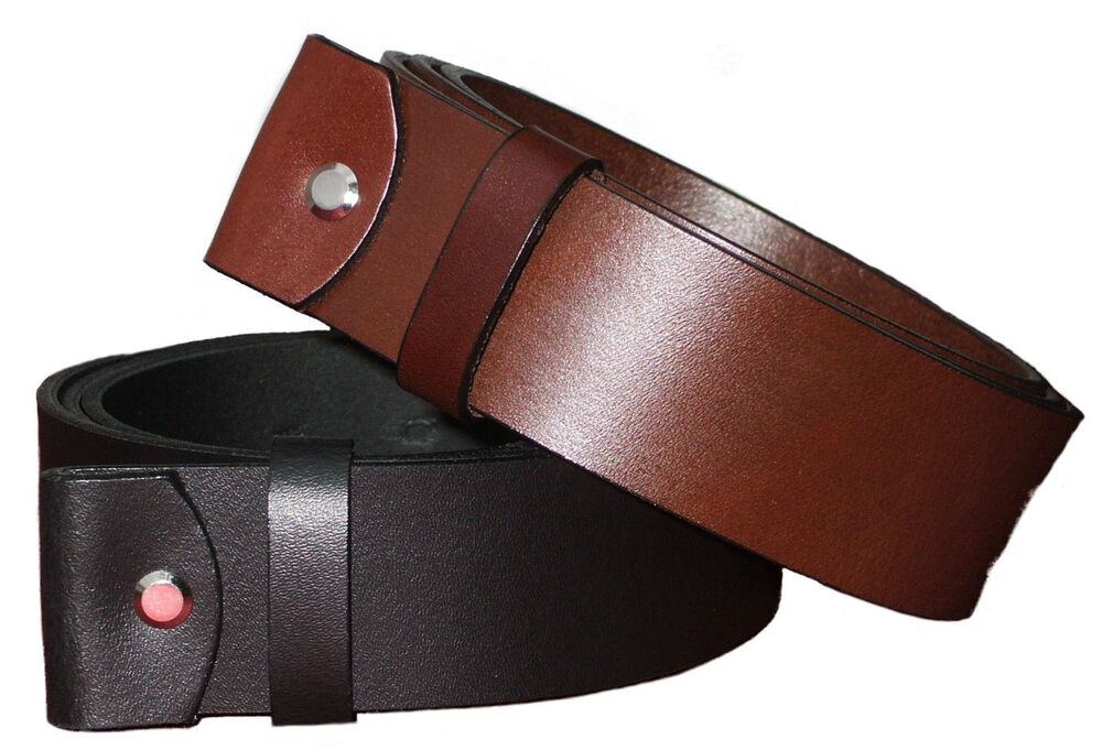 100 grain leather belts snap on 1 5 quot wide all