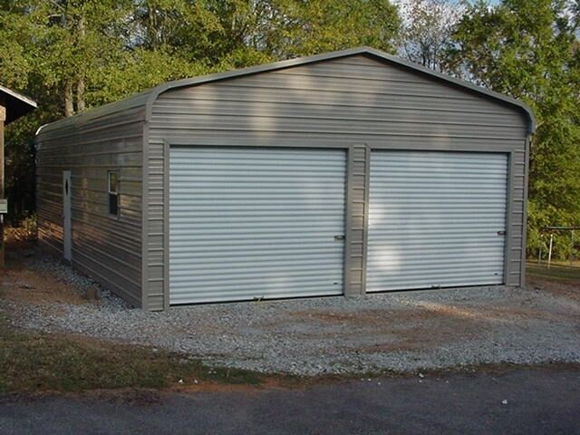 24 X 31 X 9 Metal Building Delivered And Installed