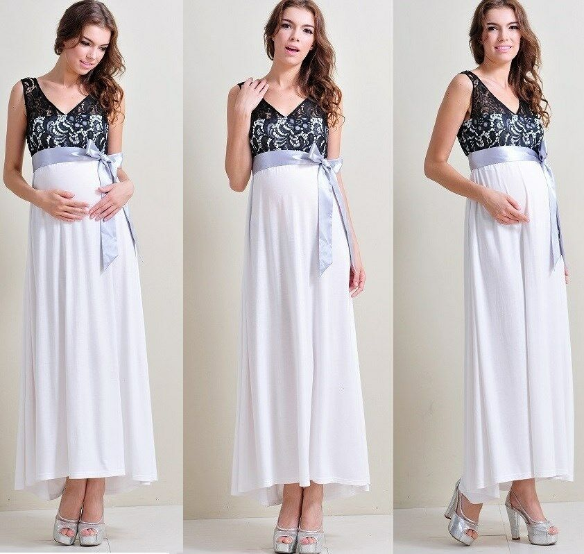 dress baby shower wedding party pregnancy gown dresses maxi b ebay