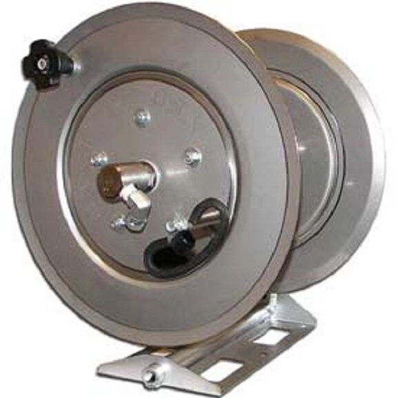 New stainless steel pressure washer hose reel psi