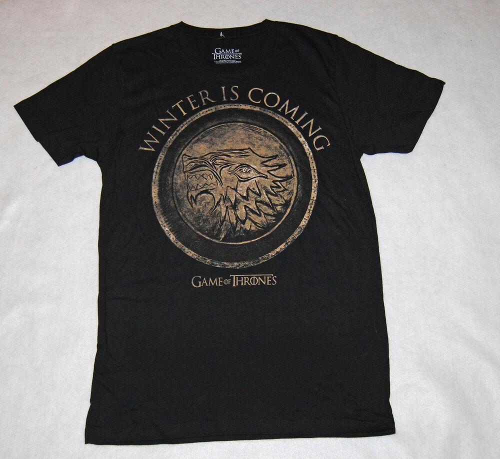 Mens t shirt hunger games game of thrones winter is coming for Game of thrones gifts for men