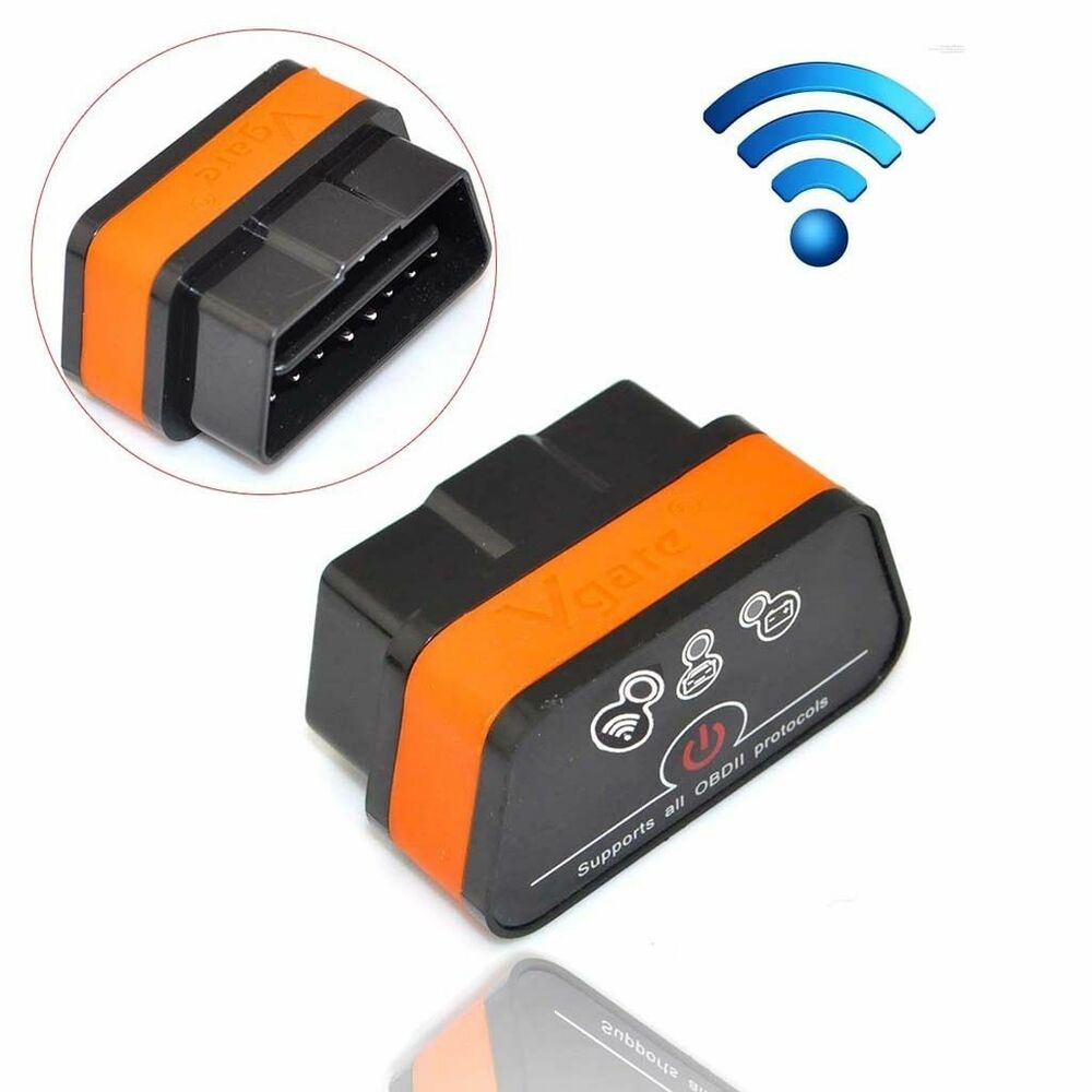 vgate icar2 mini elm327 obd2 ii wifi car diagnostic scan. Black Bedroom Furniture Sets. Home Design Ideas