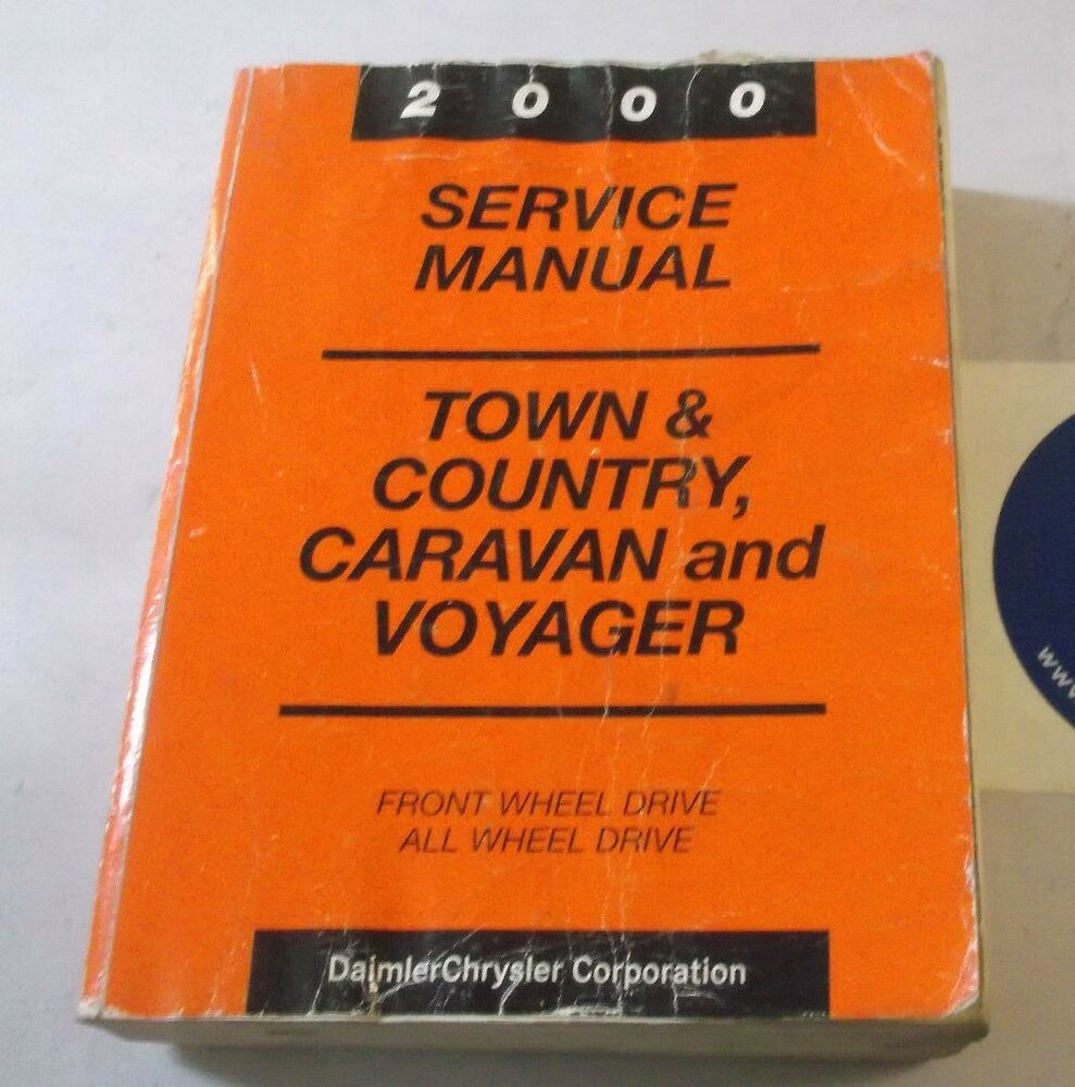 2000 CHRYSLER TOWN & COUNTRY CARAVAN AND VOYAGER SERVICE