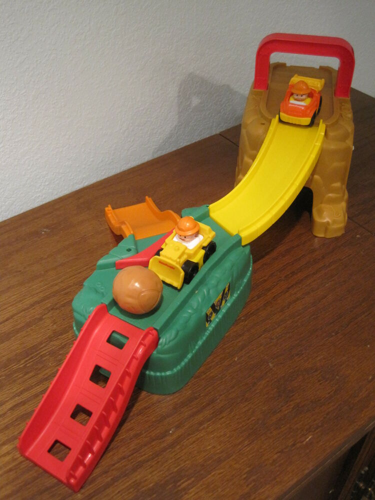 Fisher price construction toys there can