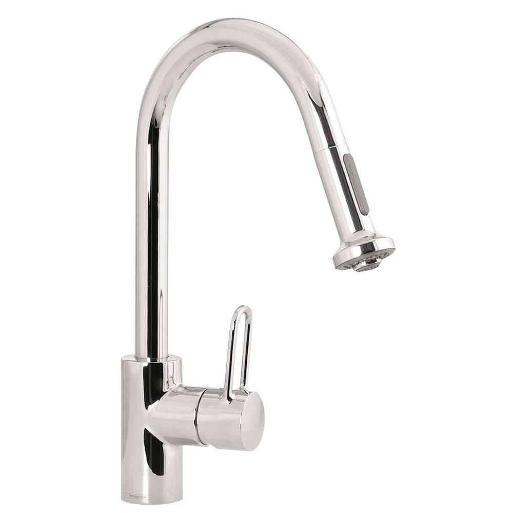 hansgrohe kitchen faucet repair hansgrohe metro high arc kitchen faucet 1 handle centerset 18021