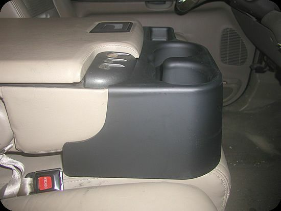 New 99 01 Ford Super Duty Truck Center Console Cupholder F