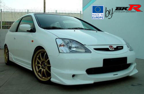 honda civic mugen style front lip splitter 01 03 ep1 ep2. Black Bedroom Furniture Sets. Home Design Ideas