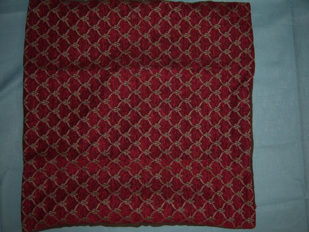 Throw Pillow Case 20 X 20 : MYOP THROW PILLOW COVER - RED - 20 x 20 eBay