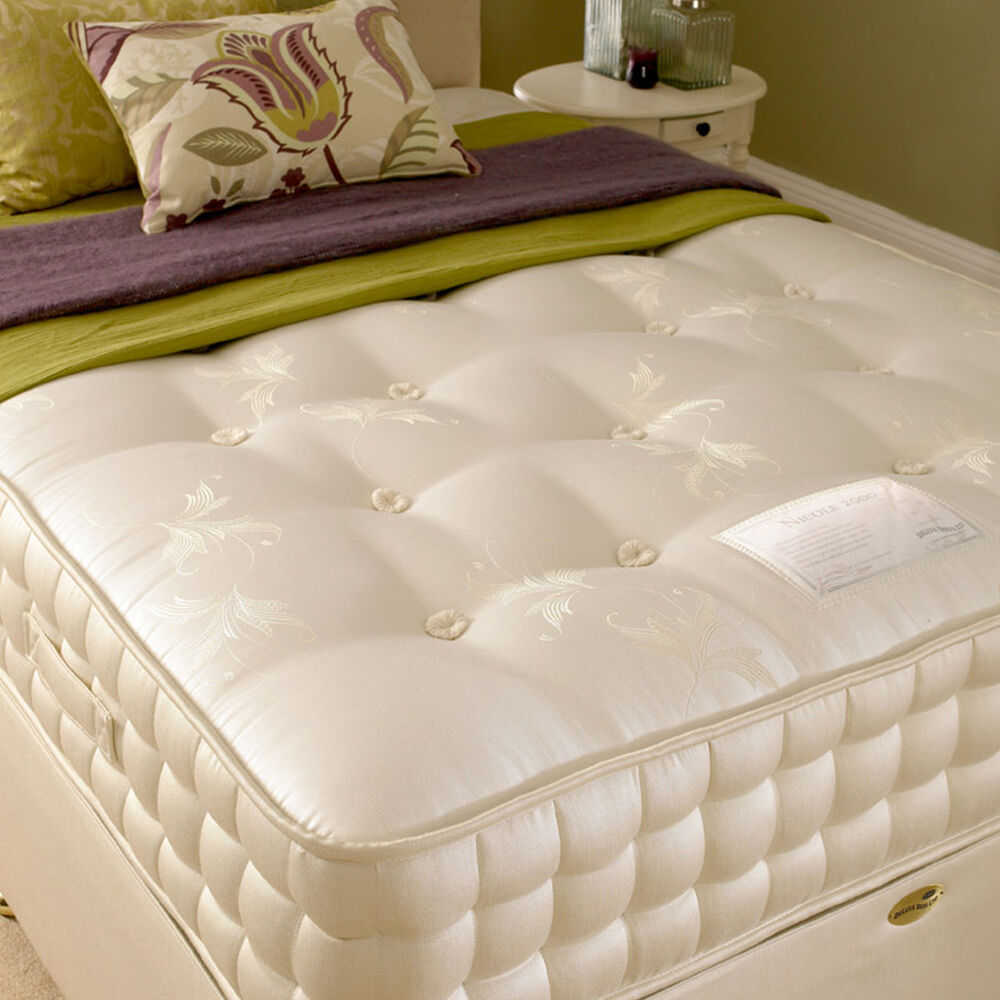 New Deluxe Beds Nicole 2000 Pocket Sprung Mattress Free Next Day Delivery Ebay