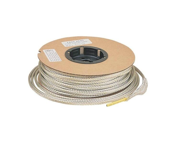 Water Pipe Heating Cable : Easy heat freeze free self regulating water pipe