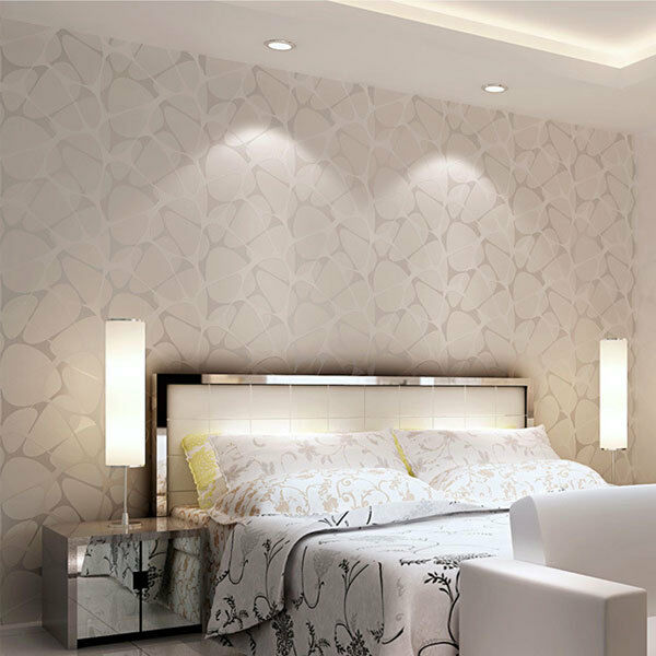 modern simple 3d background wall flocking non woven