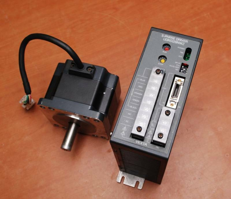 Vexta udk5128nw2 pk596ahw 5 phase stepping motor cnc ebay for 5 phase stepper motor