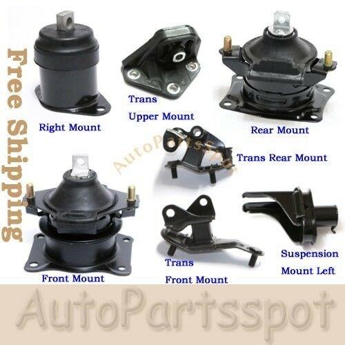 For 04-08 Acura TSX 2.4L Engine Motor & Trans Mount Kit