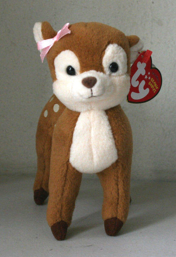 Ty Beanie Babies Collection Honey The Fawn 6 Quot Plush
