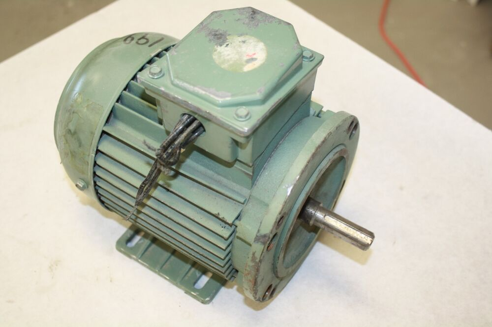 Leroy somer trimt 1 3 hp electric motor d123223 ebay for Dc motor 1 3 hp