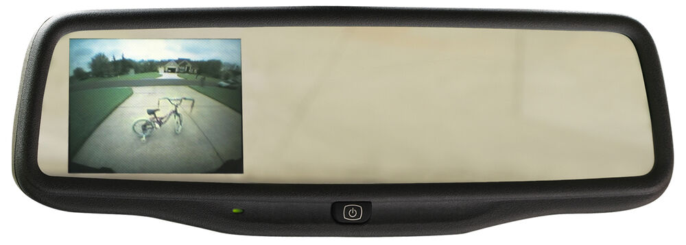 2008 10 Toyota Sequoia Rearview Mirror W 3 5 Quot Backup