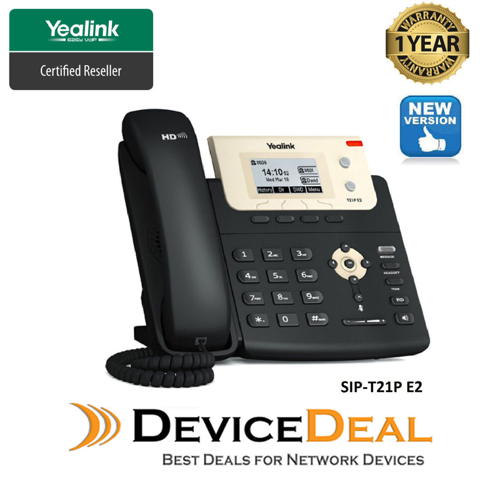 yealink sip t21p e2 hd 2 lines sip ip phone poe support. Black Bedroom Furniture Sets. Home Design Ideas