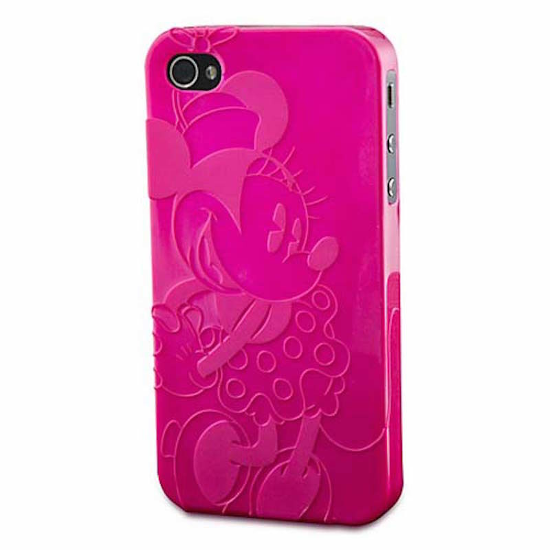 disney iphone 5 cases disney parks d tech pink minnie mouse iphone 5 5s new 13996