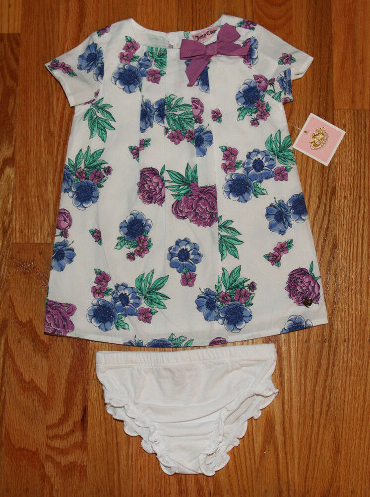 Juicy Couture Baby Girls Dress Amp Bloomers White Green