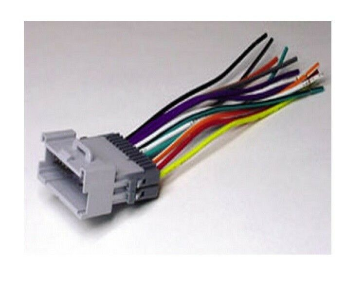 scosche gm05b wire harness for select 2000 up chevrolet ebay