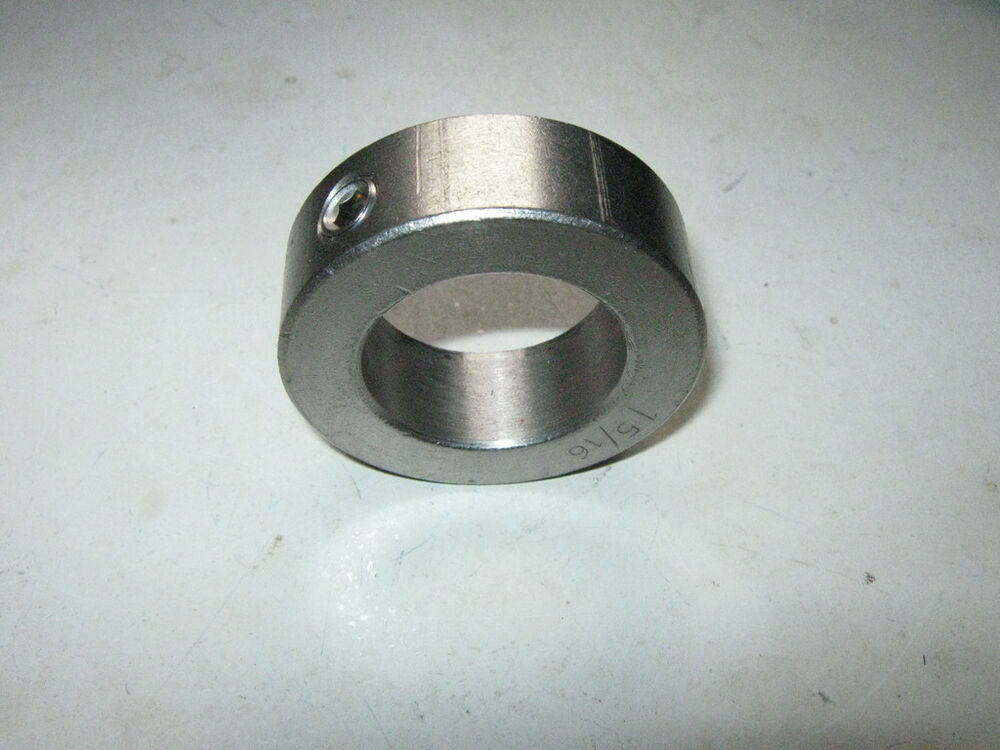 New stainless steel axle shaft locking stop collar id
