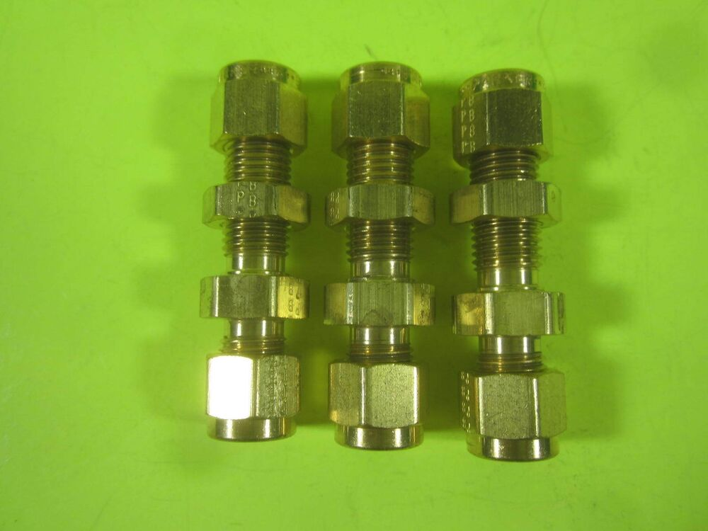 Parker a lok brass compression tube fitting quot