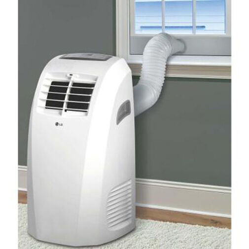 Lg lp1015wnr 10 000 btu portable air conditioner remote 24 for Small room portable air conditioners