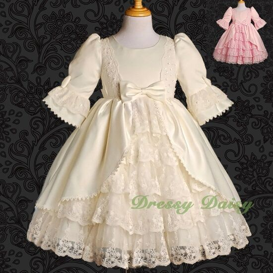 Girls Fancy Princess Victorian Vintage Costumes Party ...