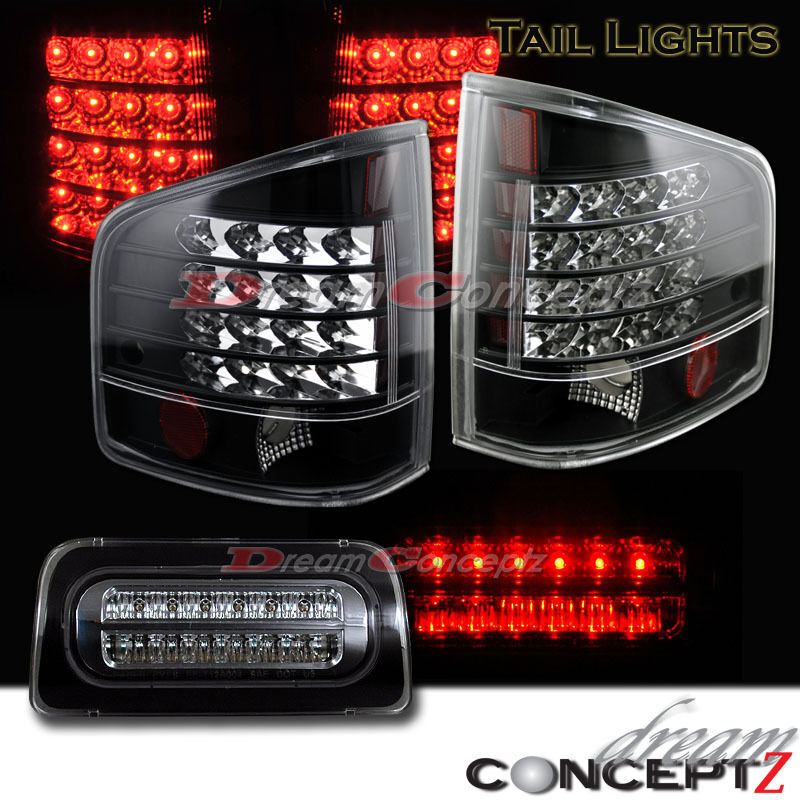 1994-2004 CHEVY S-10 S10 GMC SONOMA PICKUP LED TAILLIGHTS