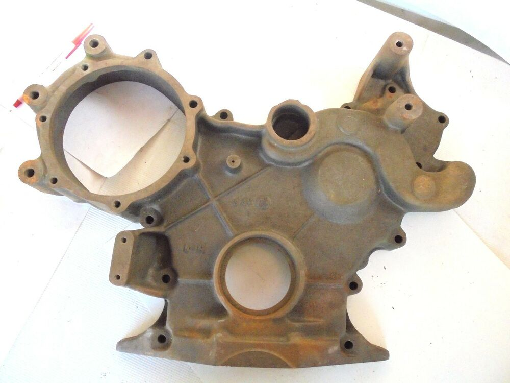 Old Engine Gears : Vintage diesel engine front gear timing cover new nos