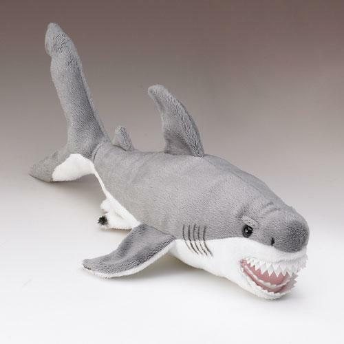 Shark Plush Toys : New great white shark stuffed animal fish plush quot toy