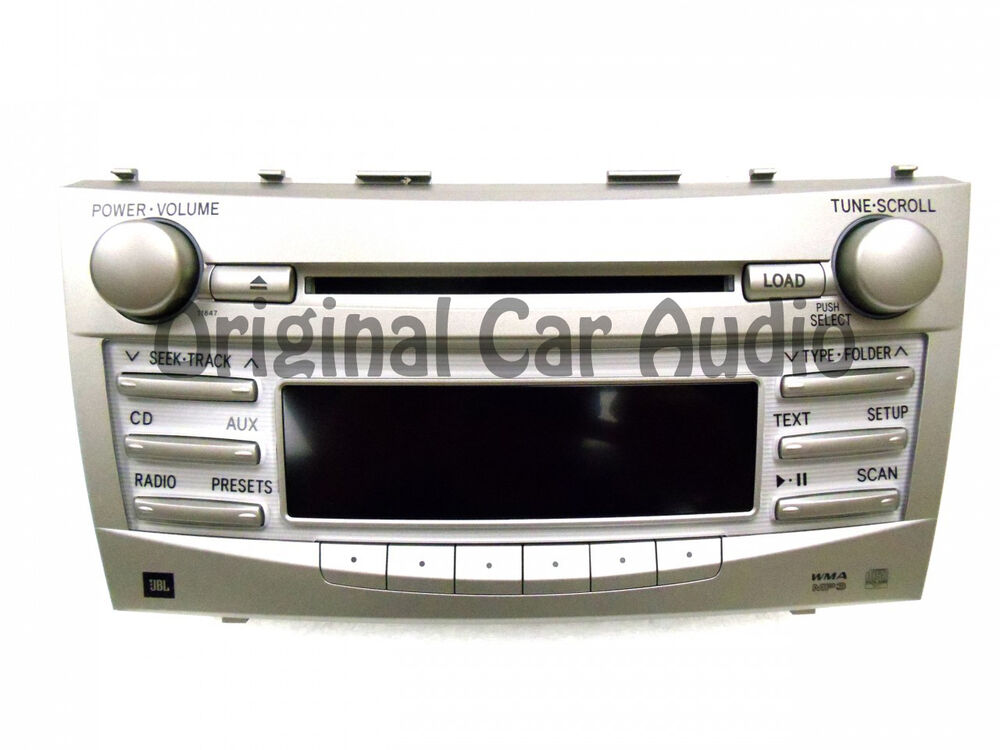 toyota camry jbl radio stereo 6 disc changer mp3 cd player. Black Bedroom Furniture Sets. Home Design Ideas