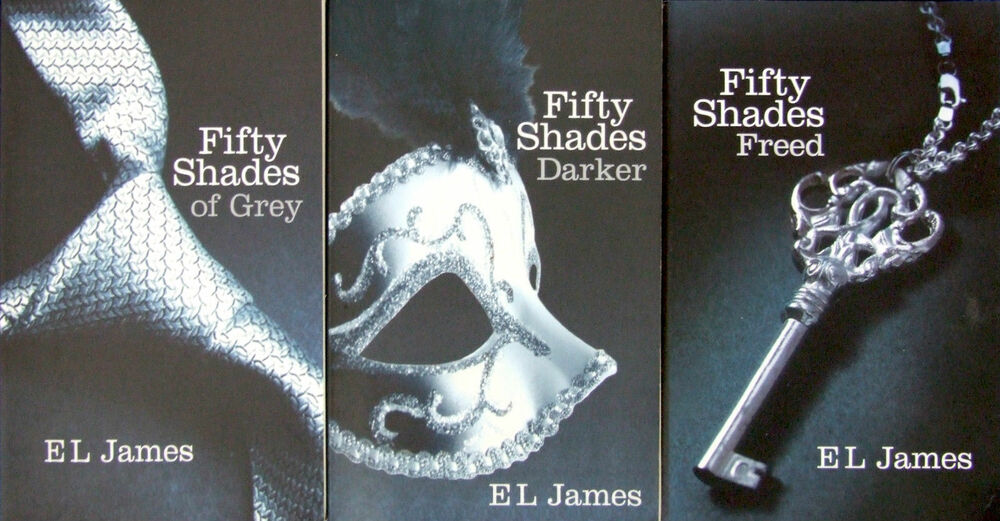e l fifty 50 shades of grey darker freed trilogy