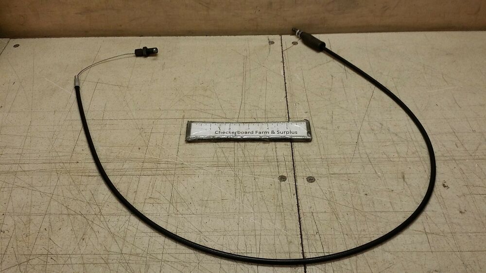 NOS Push-Pull Control Assembly Open Throttle Cable D99 ...