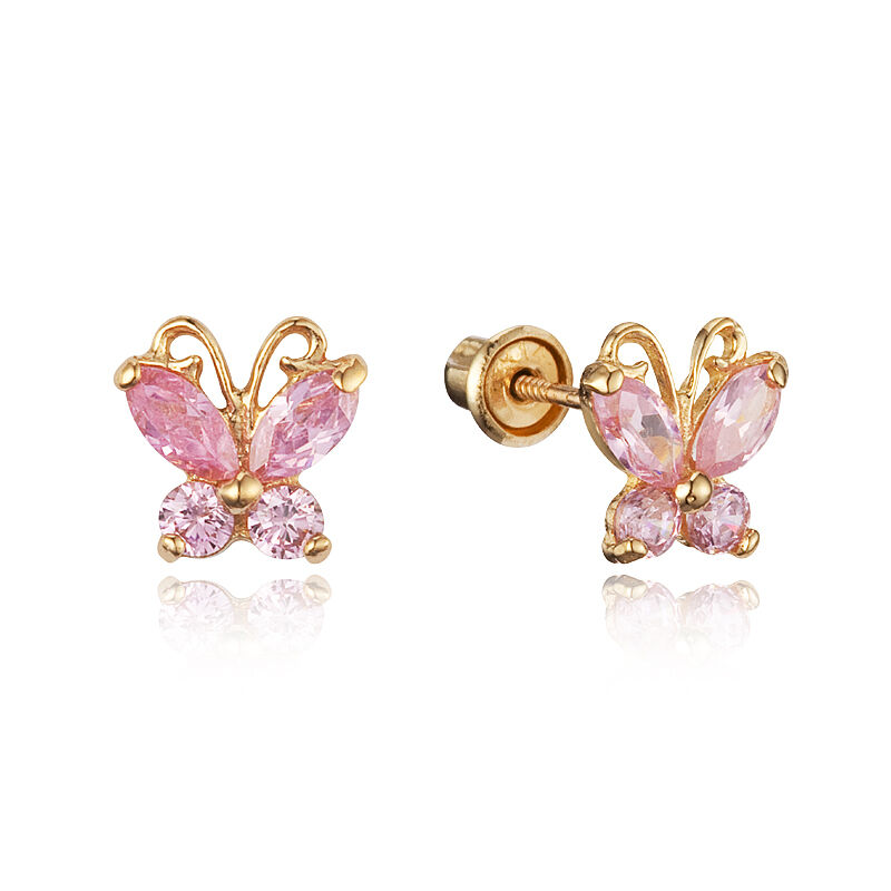 the gallery for gt gold earrings for baby girl
